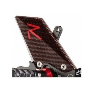 LighTech Track System Rearset Heel Guards R Series/Carbon Fiber / Right [Previously Installed]