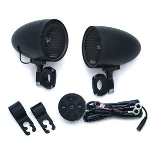 Kuryakyn Road Thunder Speaker Pods And Bluetooth Audio Controller by MTX