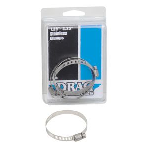 Drag Specialties Stainless Steel Hose Clamps