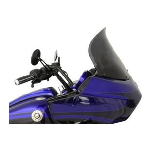 "Klock Werks Flare Windshield For Harley Road Glide 1998-2013 Dark Smoke / 14"" Tall [Previously Installed]"
