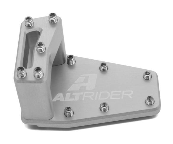 Black AltRider MU10-2-2501 DualControl Brake Enlarger for the Ducati Multistrada