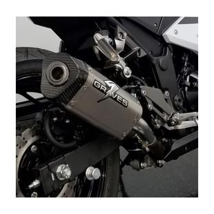 Graves Hexagonal Slip-On Exhaust Kawasaki Ninja 300 2013-2017