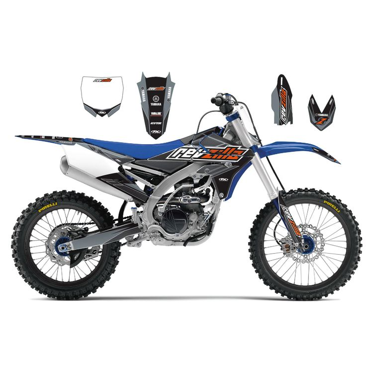 Factory Effex Complete RevZilla Graphics Kit Yamaha YZ125 / YZ250 2015-2016