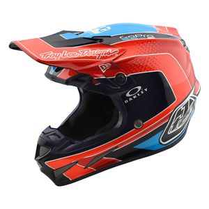 Troy Lee SE4 Carbon Squadra Helmet