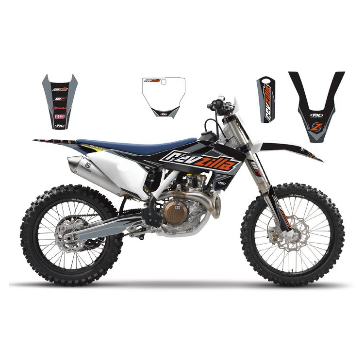 Factory Effex Complete RevZilla Graphics Kit Husqvarna TC 85 2014-2017