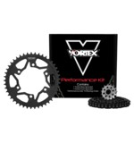 Vortex V3 WSS Chain And Sprocket Kit Kawasaki Ninja 250 2010-2013