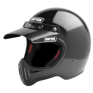 Simpson M50 Helmet Black / MD [Open Box]