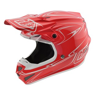 Troy Lee SE4 Pinstripe Polyacrylite Helmet