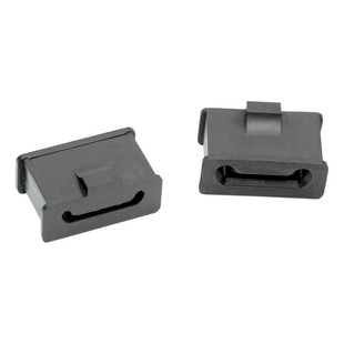 Drag Specialties Rubber Muffler Mounts For Harley Touring 1985-2018