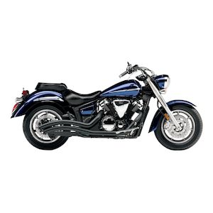 Cobra Speedster Swept Exhaust Yamaha V Star XVS1300 2007-2013 Swept / Black [Previously Installed]