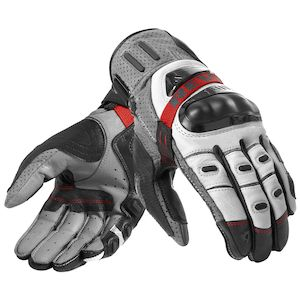 REV'IT! Cayenne Pro Gloves Grey/Red / 2XL [Blemished - Very Good]