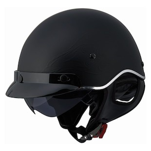LS2 SC3 Flaming Eagle Helmet Matte Black / LG [Blemished - Very Good]