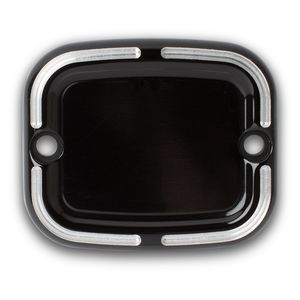 Arlen Ness Slot Track Front Brake Master Cylinder Cover For Harley Softail / Dyna 2005-2009