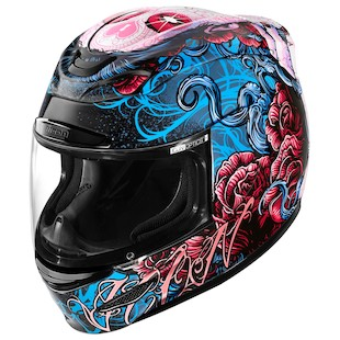 Icon Airmada Sugar Helmet Red/Blue/Black / MD [Open Box]