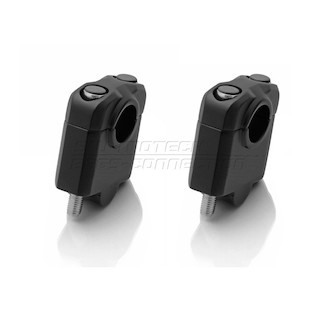 "SW-MOTECH 7/8"" Handlebar Risers Black / 30MM [Blemished - Very Good]"