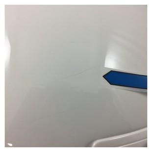 Shoei RJ Platinum-R Helmet White / XL [Blemished - Very Good]
