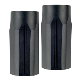 Performance Machine Tech Fork Slider Covers For Harley Touring 2014-2018 Black Ops [Blemished - Very Good]