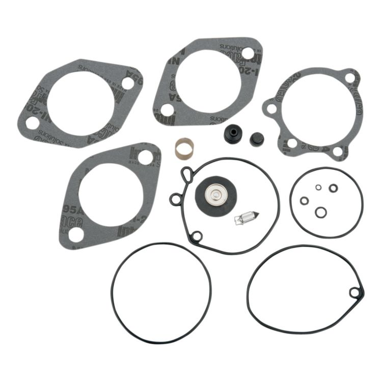 Drag Specialties Butterfly Carburetor Rebuild Kit For Harley 1984-1989
