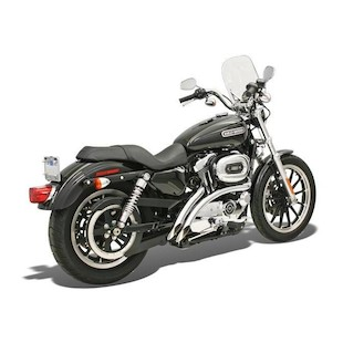Bassani Radial Sweepers Exhaust For Harley Sportster 1986-2003 Chrome [Previously Installed]