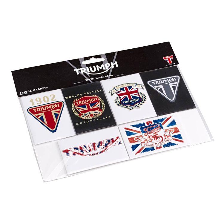 Triumph Fridge Magnet Set