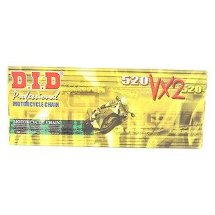 DID 520VX2 X-Ring Chain 110 Links / Natural [Previously Installed]
