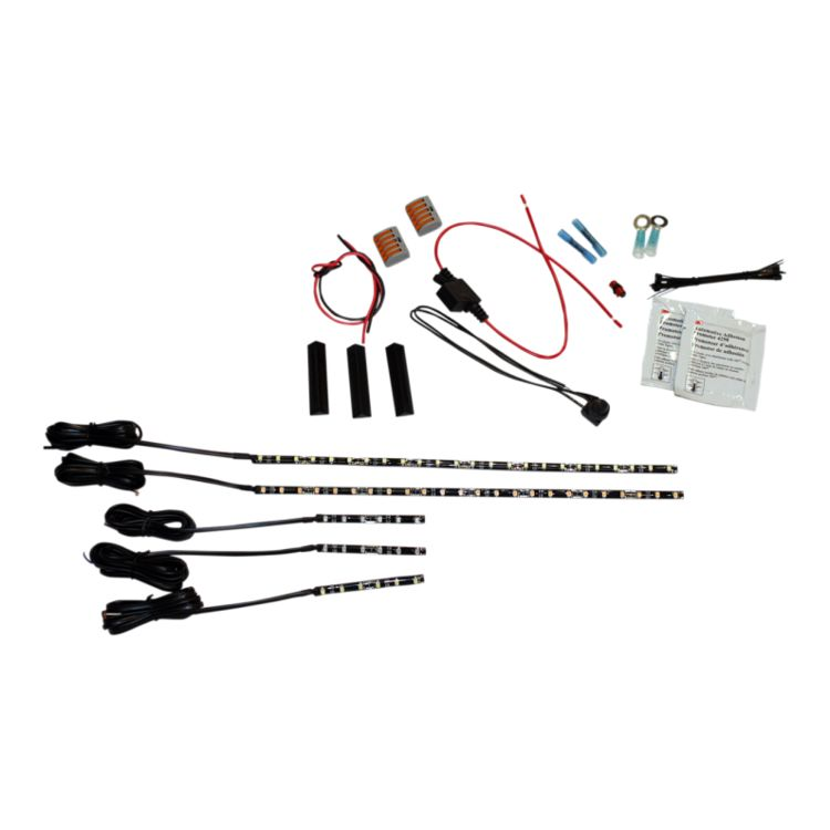 Custom Dynamics LED MagicFlex 2 Cruiser Engine Light Kit