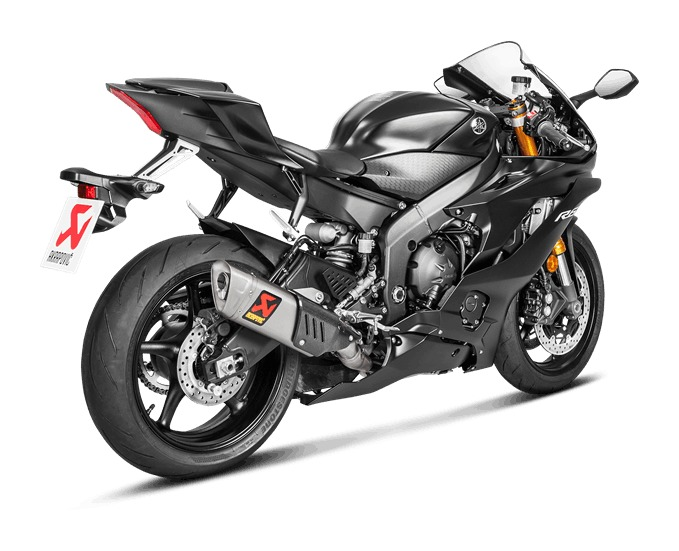 Akrapovic Evolution GP Exhaust System Yamaha R6 2008 2018