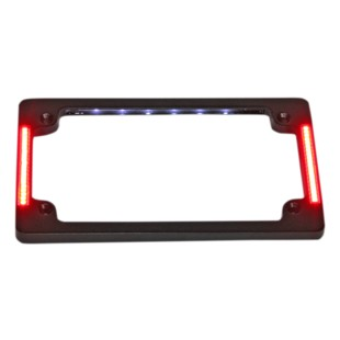 Custom Dynamics LED All-In-One Tri-Horizontal License Plate Frame