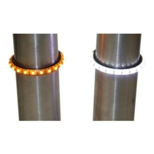 Custom Dynamics TruWrapz 360-Degree LED Fork Lights For Harley