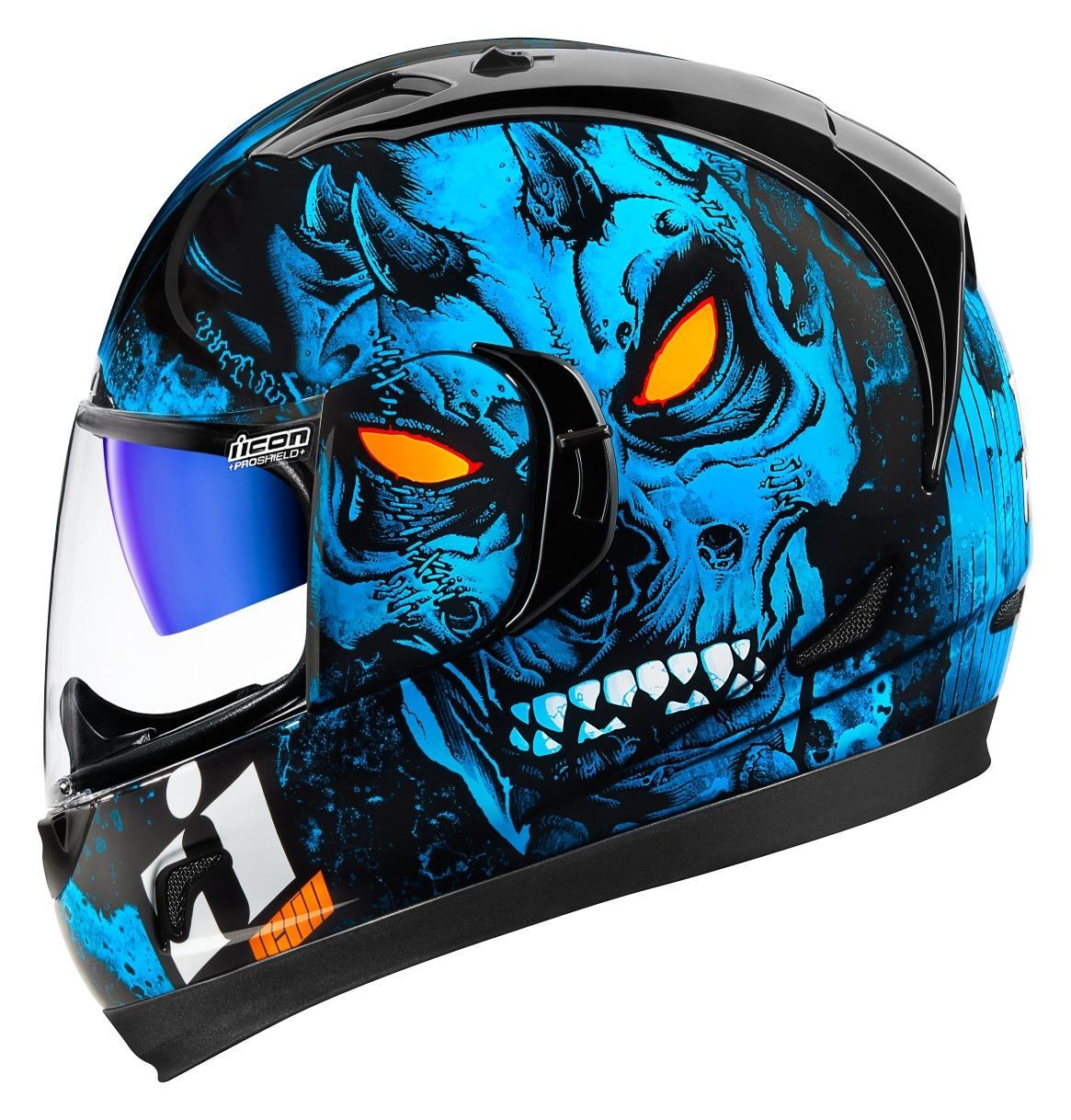Icon Alliance GT Horror Helmet RevZilla - Motorcycle helmet decals graphicsmotorcycle helmet graphics the easy helmet upgrade
