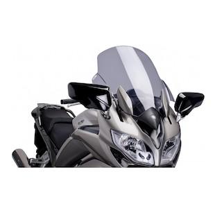 Puig Touring Windscreen Yamaha FJR1300 2013-2017 Smoke [Previously Installed]