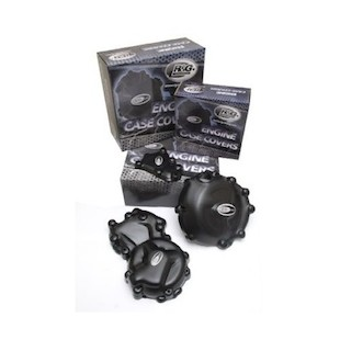 R&G Racing Engine Cover Set BMW S1000RR / S1000R / S1000XR Black / 4 Piece Kit [Previously Installed]