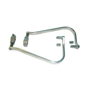 """Barkbusters Aluminum Handguard Kit For 7/8"""" or 1 1/8"""" Handlebars 1 1/8"""" Tapered Bars / Silver [Previously Installed]"""