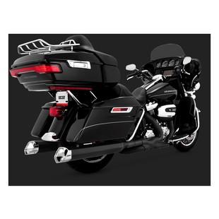 """Vance & Hines 5 1/2"""" Monster V Slip On Mufflers For Harley Touring 2017"""
