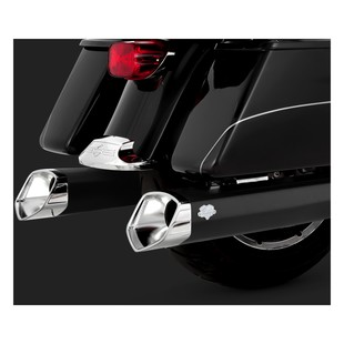 "Vance & Hines 5 1/2"" Monster V Slip On Mufflers For Harley Touring 1995-2016"