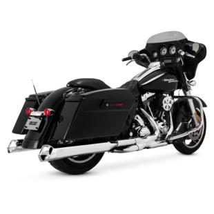 """Vance & Hines 5 1/2"""" Monster V Slip On Mufflers For Harley Touring"""