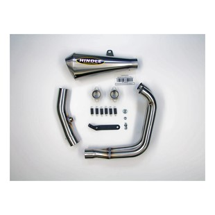 Hindle EVO Megaphone Exhaust System Yamaha R3 2015-2017