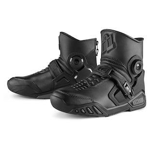 Icon Accelerant Boots Black / 9.5 [Open Box]