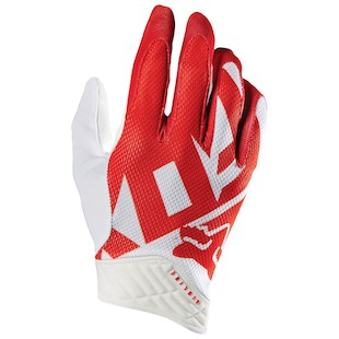 Fox Racing Shiv Airline Gloves Red/White / 2XL [Demo - Good]
