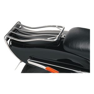 Drag Specialties Bobtail Fender Luggage Rack For Harley Softail / Wide Glide 1980-1999