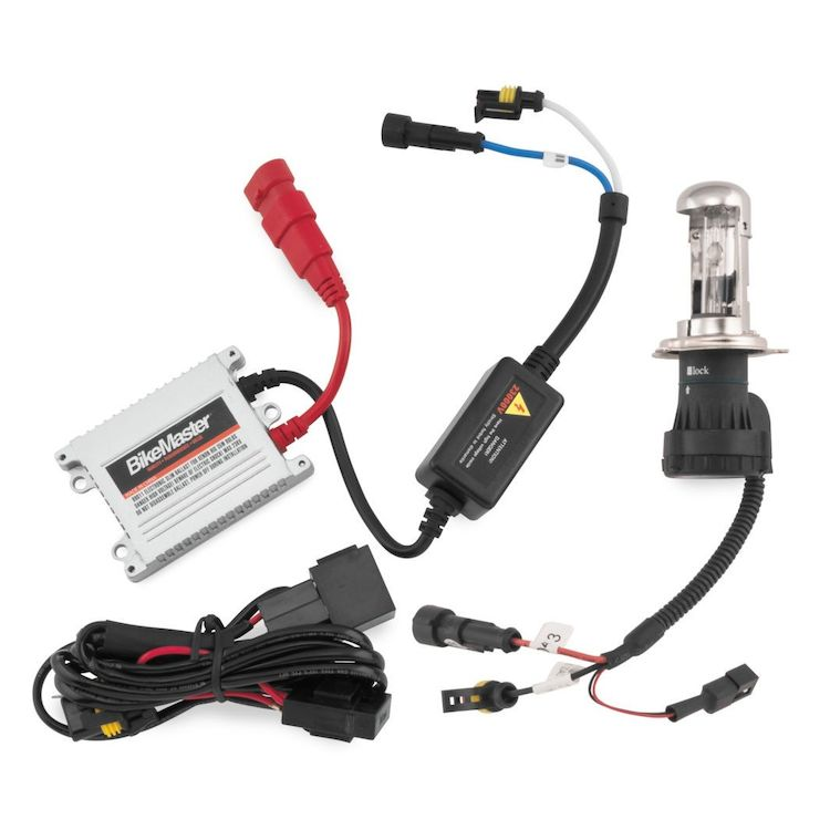 Bike Master HID Headlight Conversion Kit 6000K H4HL [Previously Installed]