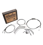 Burly Handlebar Cable Installation Kit For Harley Sportster 2014-2017
