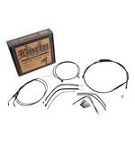 Burly Handlebar Cable Installation Kit For Harley Sportster 2014-2017