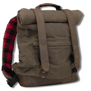 Burly Waxed Canvas Back Pack