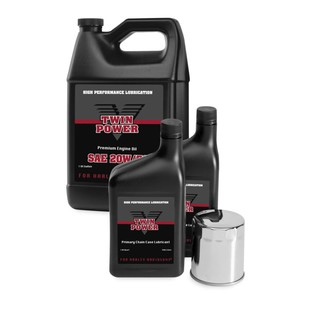 Twin Power Oil Change-In-A-Box For Harley Big Twin 1999-2018