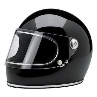 Biltwell Gringo S Helmet Gloss Black / SM [Open Box]