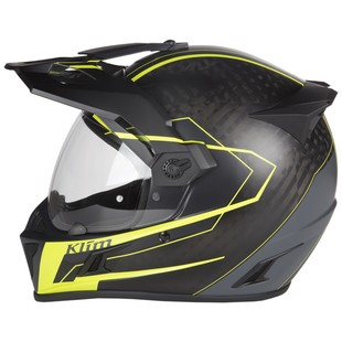 Klim Krios Vanquish Helmet Hi-Viz / MD [Open Box]