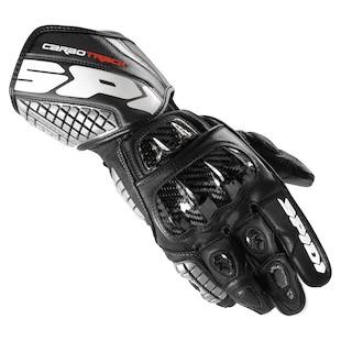Spidi Carbo Track Gloves Black / MD [Demo - Good]