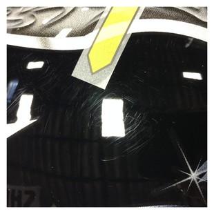 Shoei RF-1200 Diabolic Helmet Black/Silver/Blue / SM [Blemished - Very Good]