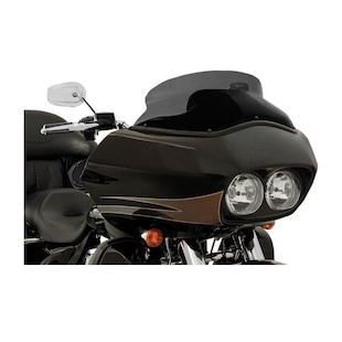 """Memphis Shades Spoiler Windshield For Harley Road Glide 1998-2013 Ghost Tint / 11.5"""" Tall [Previously Installed]"""